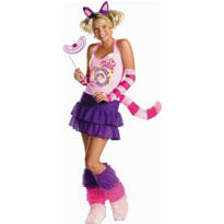 Teen Girls Cheshire Cat Costume