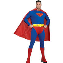 Adult Superman Costume Plus Size