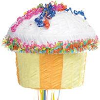 Pull String Cupcake Pinata