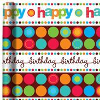 Modern Birthday Gift Wrap