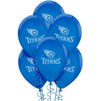 Tennessee Titans Latex Balloons 6ct