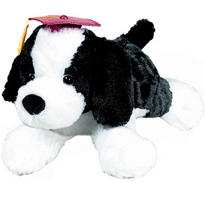 Graduation Plush Floppy Terrier 16in