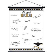 Graduation Autograph Scroll 23in x 18in