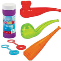 Mini Bubble Fun Set 4pc