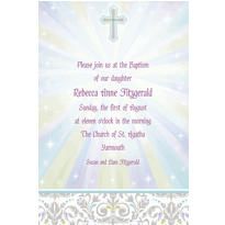 Joyous Celebration Custom Invitation