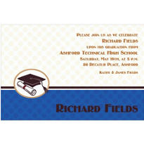 Mod Graduate Custom Invitation