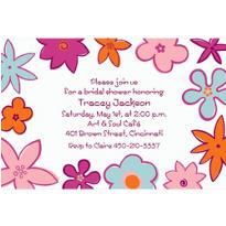 Bodacious Blooms Custom Invitation
