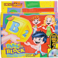 Pass The Alphabet Block Game