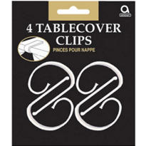 Table Cover Clips 4ct