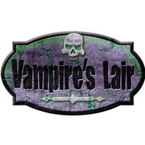 Ghouls Graveyard Vampire Sign 10in