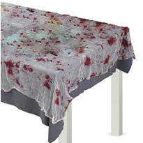 Bloody Gauze Table Cover 60in x 84in