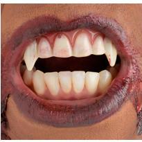 Realistic Vampire Fangs