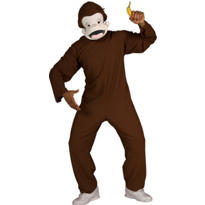 Adult Curious George Costume