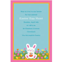 Easter Friends Custom Invitation