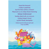 Two by Two Custom Baby Shower Invitation