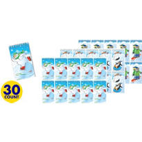 Winter Fun Notepads 30ct <span class=messagesale><br><b>17¢ per piece!</b></br></span>
