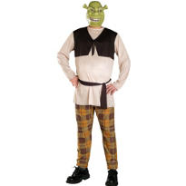 Adult Shrek Costume Plus Size - Shrek Forever After