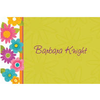 Spring Fling Custom Thank You Note
