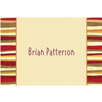 Serape Custom Thank You Note
