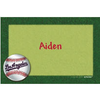 Los Angeles Dodgers Custom Thank You Note