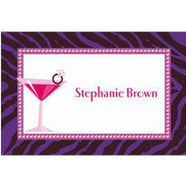 Bride to Bling Custom Bridal Shower Thank You Note