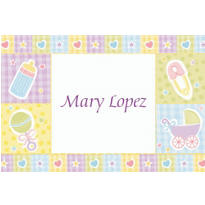 Baby Nursery Custom Thank You Note