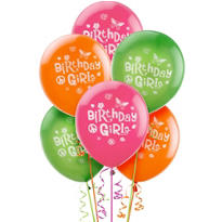 Hippie Chick Latex Balloons 12in 6ct