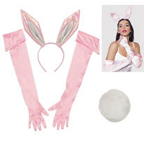 Pretty Pink Bunny Costume Kit