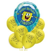 SpongeBob Balloon Bouquet Value 7pc