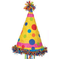 Pull String Party Hat Pinata