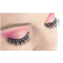 Jeweled False Eyelashes