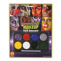 Carnival Colors Costume Makeup Kit