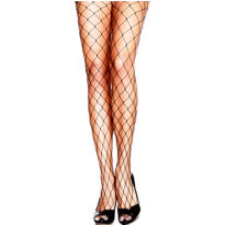 Adult Black Fence Net Pantyhose