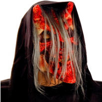 Latex Demonic Reaper Mask