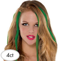 St. Patricks Day Hair Extensions 4ct 15in
