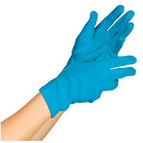 Blue Lady Gaga Gloves