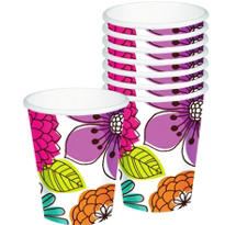 Floral Chic Cups 8ct