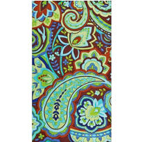 Cool Paisley Guest Towels 16ct