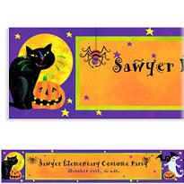 Gruesome Group Halloween Custom Banner