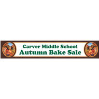 Festive Turkey Custom Banner 6ft