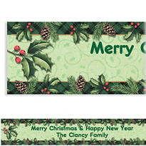 Season to Remember Custom Christmas Banner