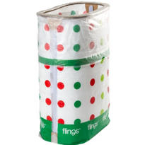 Holiday Party Flings® Trash Bin 13 gallon