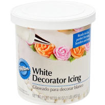 White Decorating Icing 16oz