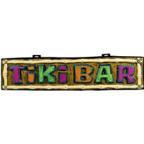 Tiki Bar Sign 42in