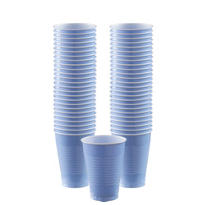 BOGO Pastel Blue Plastic Cups 12oz 50ct