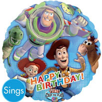 Happy Birthday Buzz Lightyear Balloon - Singing