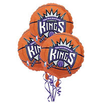 Sacramento Kings Balloons 18in 3ct