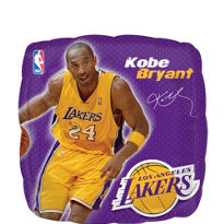 Kobe Bryant Balloon 18in