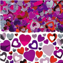 Lots Of Hearts Confetti 5oz