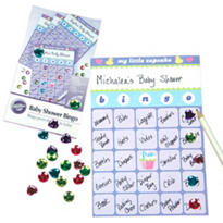 My Little Cupcake Baby Shower Bingo Game 12ct